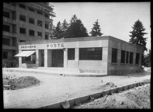Genève, rue de Lyon: poste des Charmilles