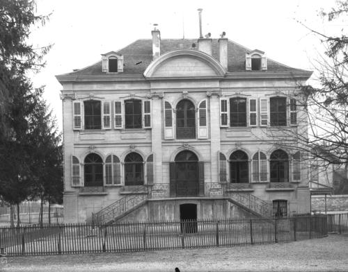 Genève, rue des Eaux-vives: ancienne maison Senn