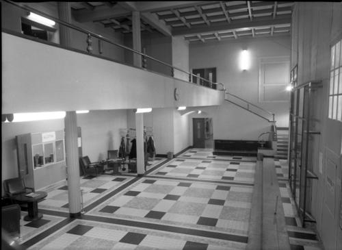 Genève, passage de la Radio: Radio Genève (hall d'entrée)