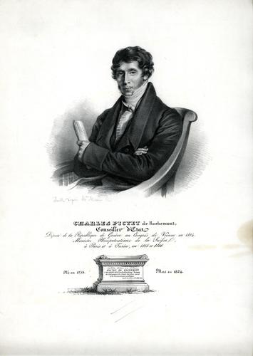 Portrait de Charles Pictet de Rochemont