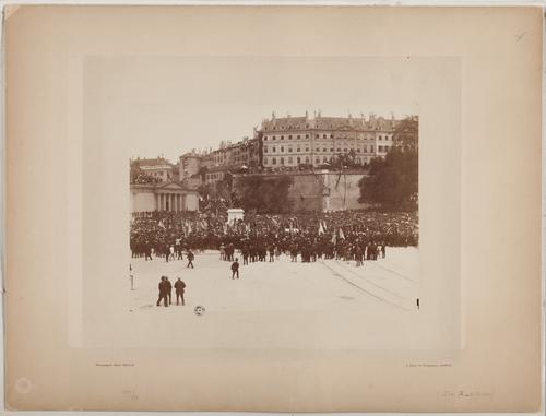 Inauguration du monument du Général Dufour