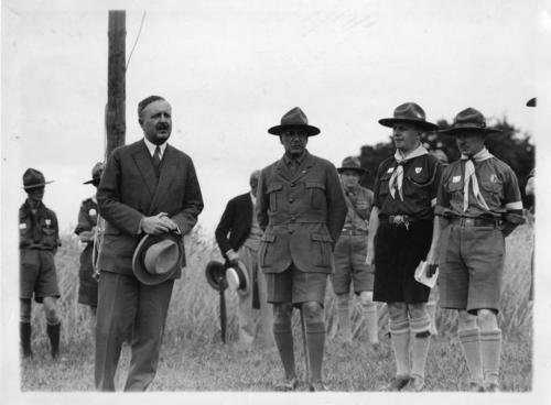 Scoutisme, deuxième camp national d'éclaireurs