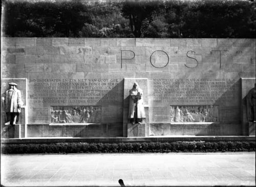 Genève, promenade des Bastions: monument de la Réformation