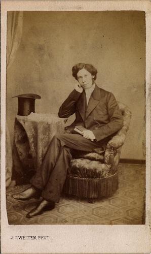 Portrait de Louis Tournier, pasteur