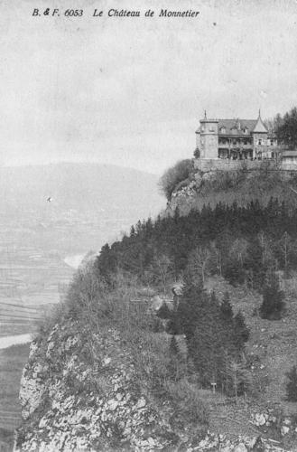 Haute-Savoie, Monnetier-Mornex: château de l'Hermitage à Monnetier