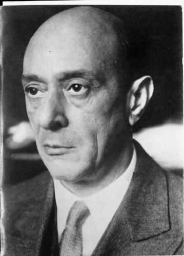 Arnold Schoenberg (vers 1930)