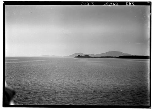 Corfou, citadelle vue de loin