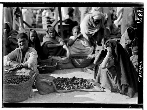 Tunisie, Gabès: marchand