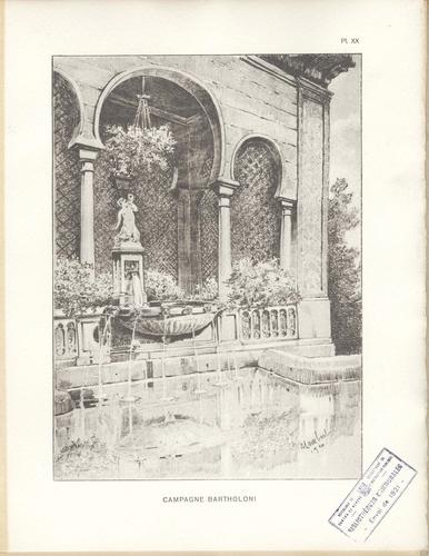 Genève, perle du Lac: fontaine en 1920