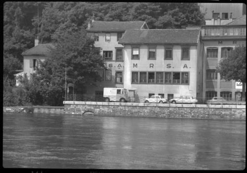 Genève, quai du Seujet actuel: bâtiment de MR S. A.