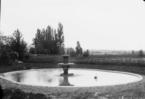 """Veyrier (?): """"fontaine de l'étang"""" (des Bossons ?)"""