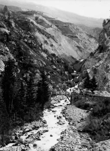 Val d'Aoste, massif du Ruitor: vue générale