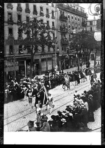 Genève, cours de Rive (début du 20e siècle)
