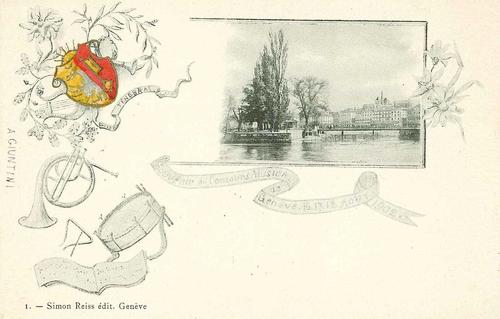 Genève: souvenir du concours musical (16>18.08.1902)