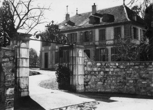 Cologny, route de la Capite: le Gerdil (actuelle mairie)