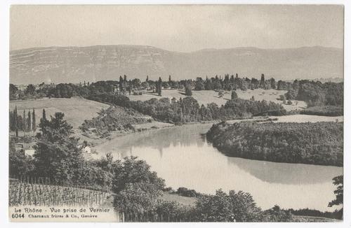Vernier, bord du Rhône