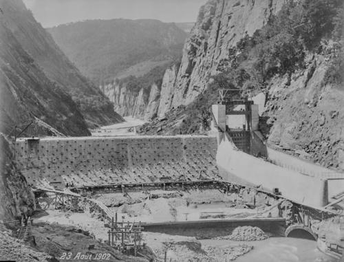 Isère, Avignonet: barrage