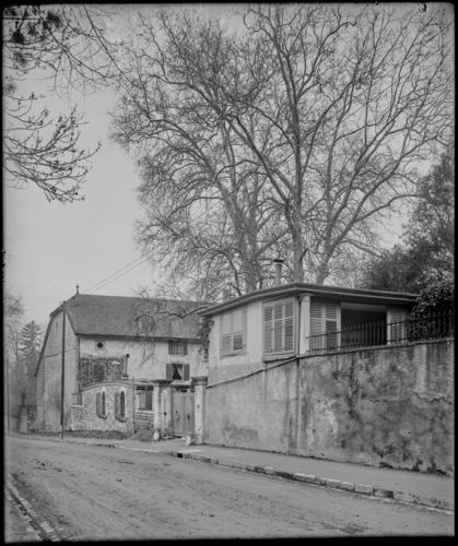 Genève, route de Malagnou: propriété Bizot-Deonna