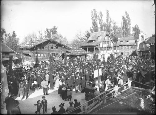 Genève, Exposition nationale: village suisse