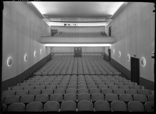 Genève, place de la Fusterie: cinéma ABC, balcon et parterre