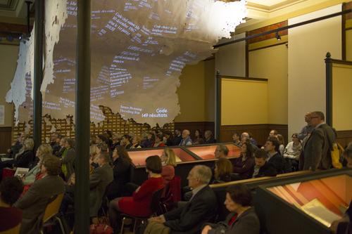 Genève, exposition De l'argile au nuage: événement de clôture
