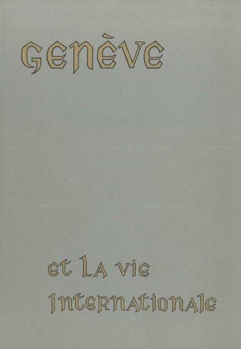 Genève et la vie internationale