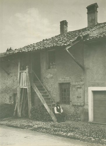 Bernex, village: maison rurale