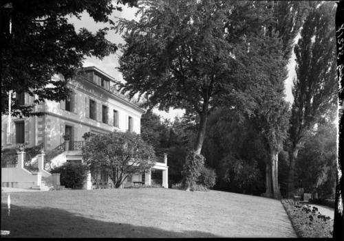 Pregny-Chambésy, Chambésy: villa Petite Pierrière