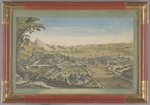 Vue de la Ville de Genève prise du Sud