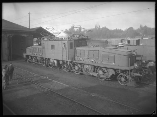 Genève, Cornavin: dépôt des locomotives