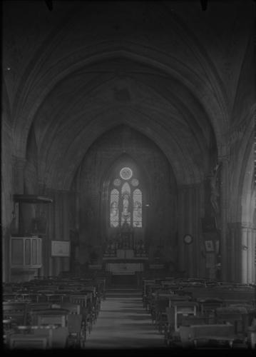 Haute-Savoie, Evian: église (intérieur)