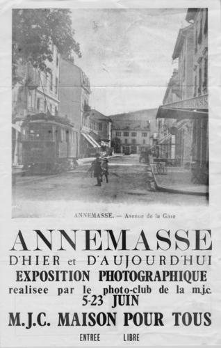 Haute-Savoie, Annemasse: exposition photographique (affiche)