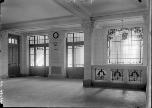 Genève, rue de la Servette: école primaire (intérieur)