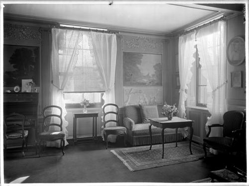 Genève, route de Malagnou: maison du baron Carl-Frédéric de Geer, petit salon
