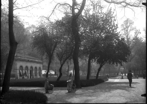 Genève, promenade des Bastions: orangerie