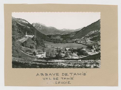 Savoie, Plancherine: val et abbaye de Tamié