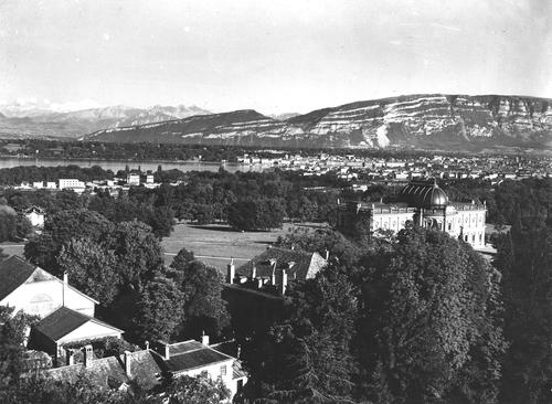 Genève, avenue de la Paix: parc et musée de l'Ariana