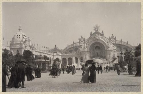 Paris, souvenirs de l'exposition universelle: le champ de Mars et le palais de l'électricité