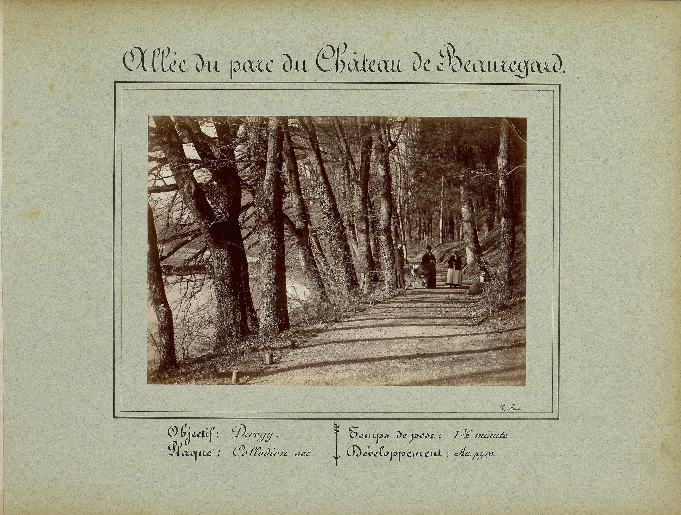 Haute-Savoie, Chens-sur-Léman: château de Beauregard (parc)