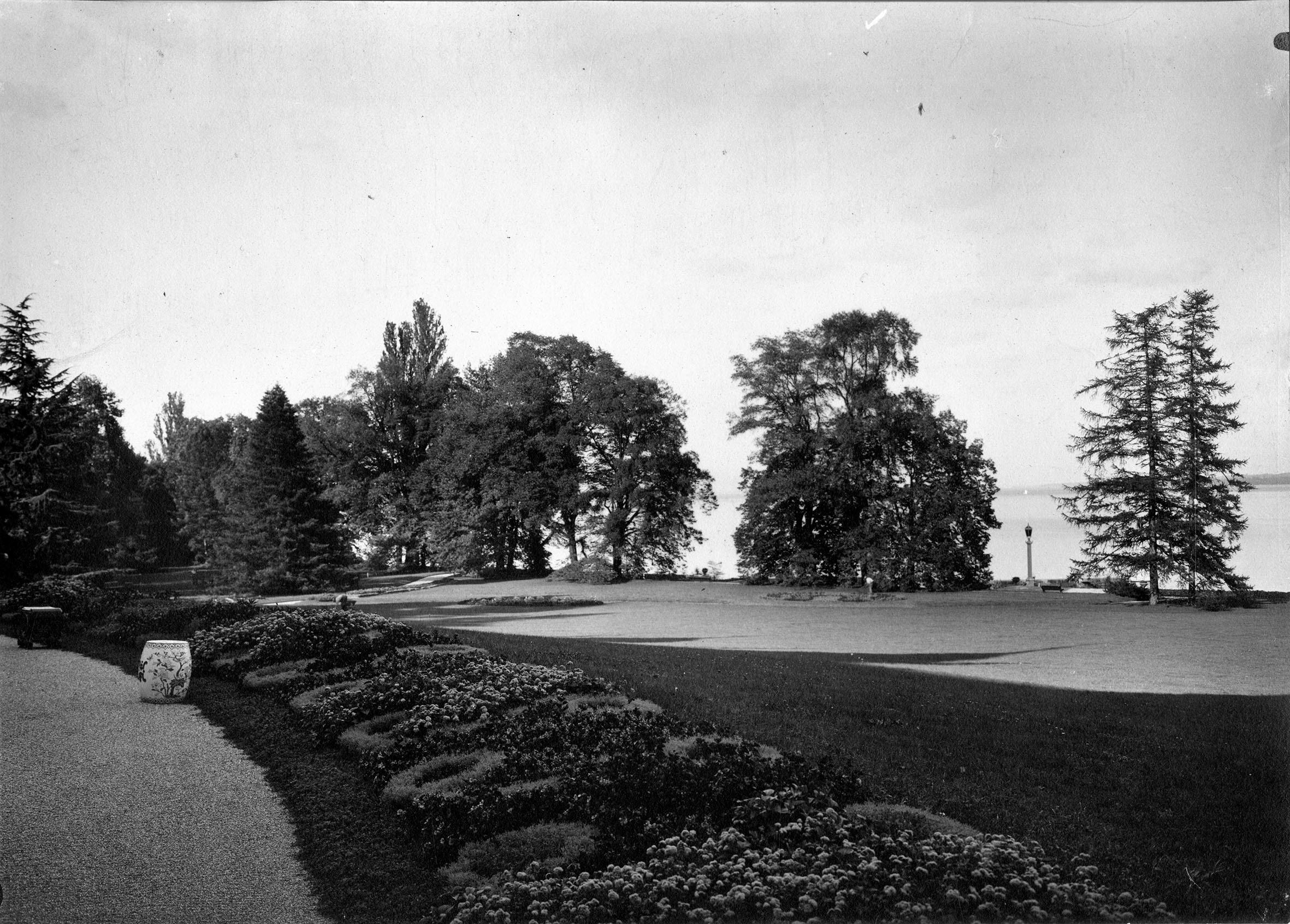 Genève, parc Barton