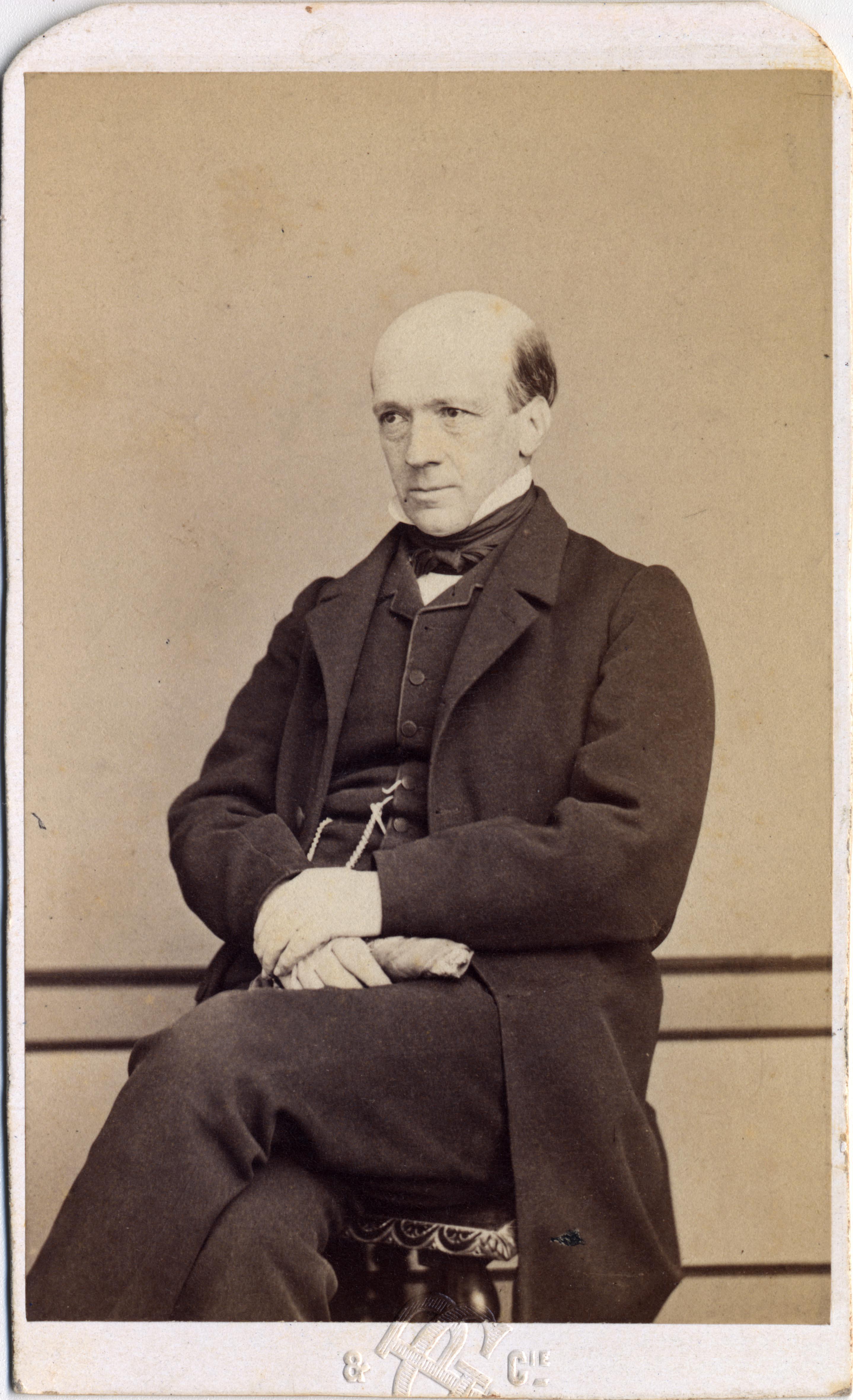 Portrait de Jules Ernest Naville