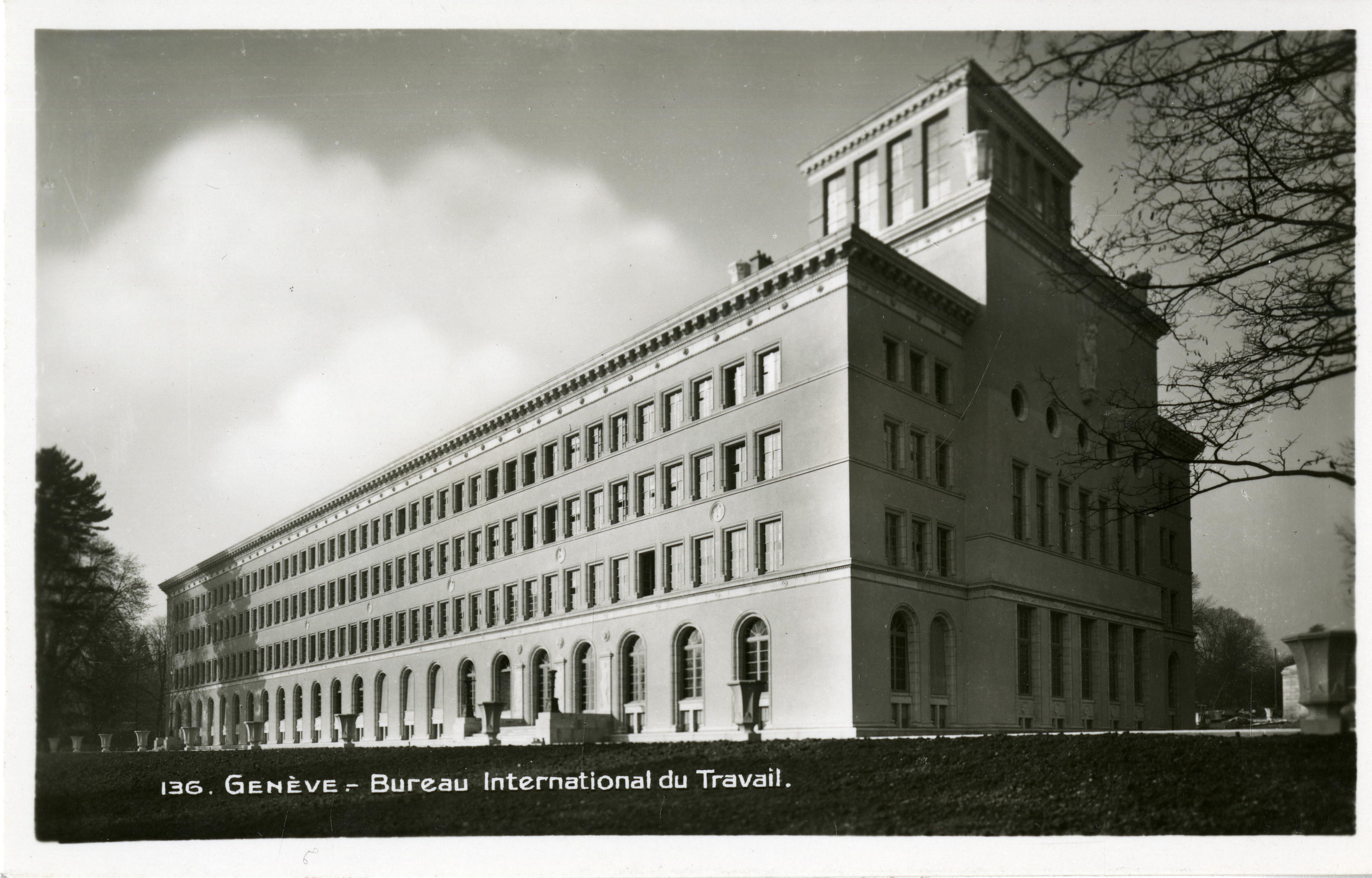 Genève rue de lausanne bureau international du travail