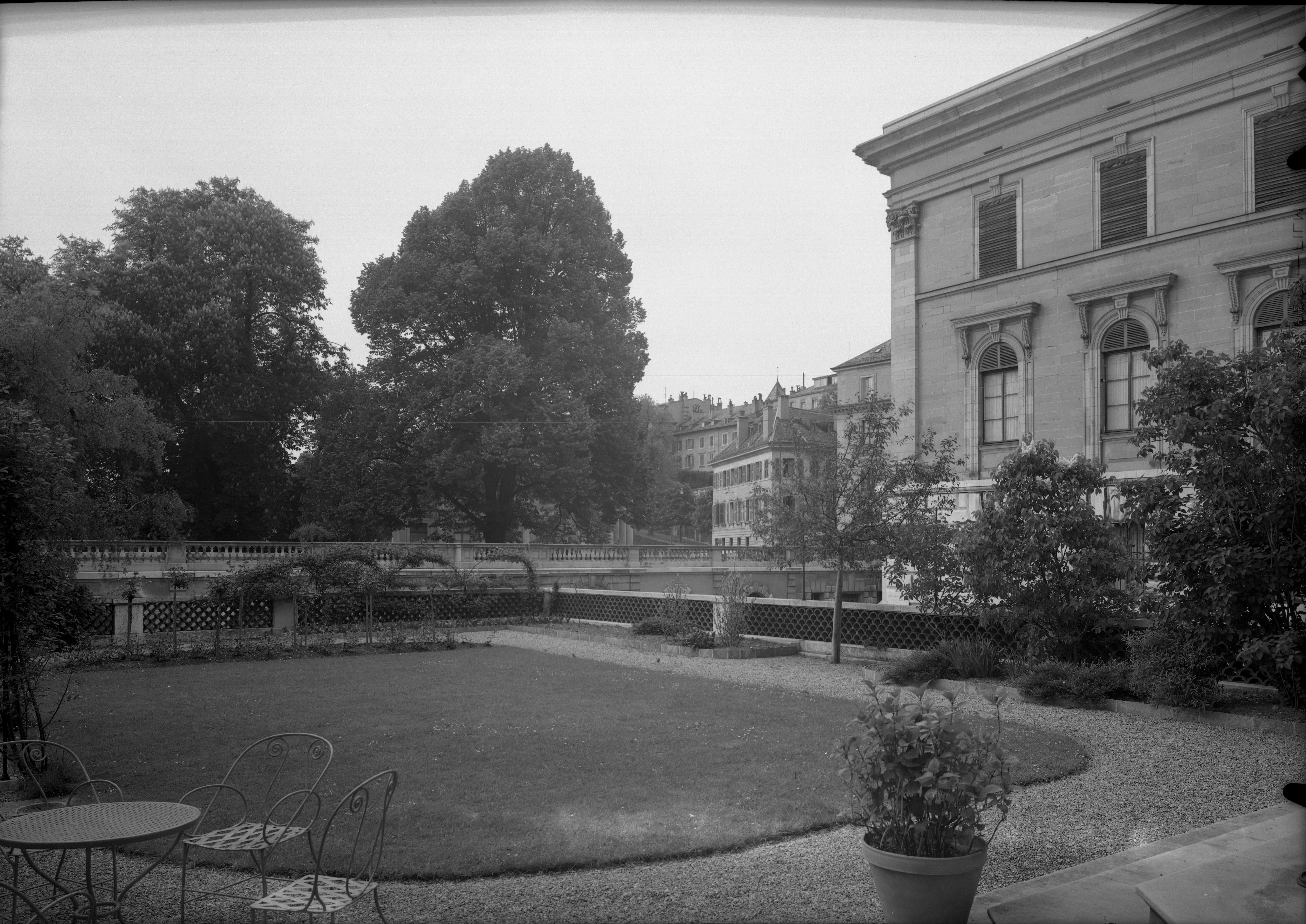 Genève, rue Eynard: cercle de la Terrasse