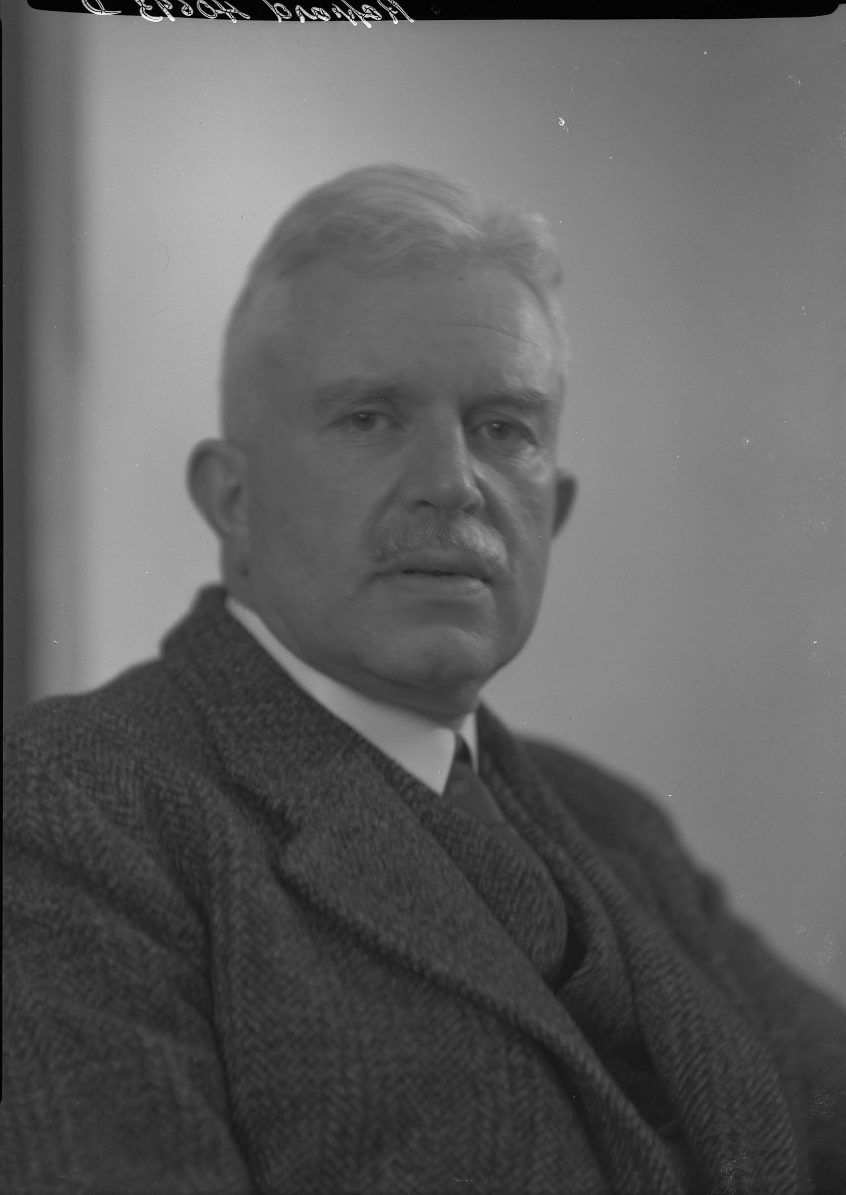 Portrait de William Rappard