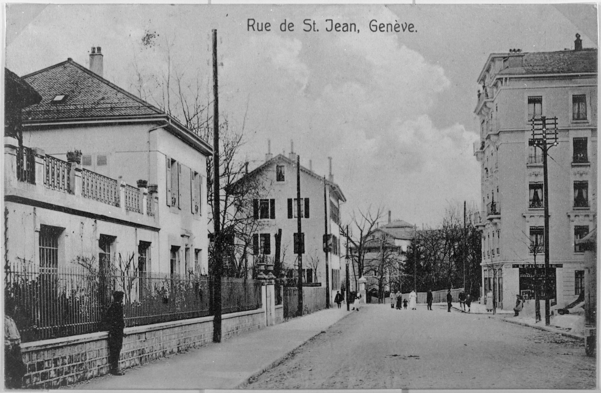 Genève, rue de Saint-Jean