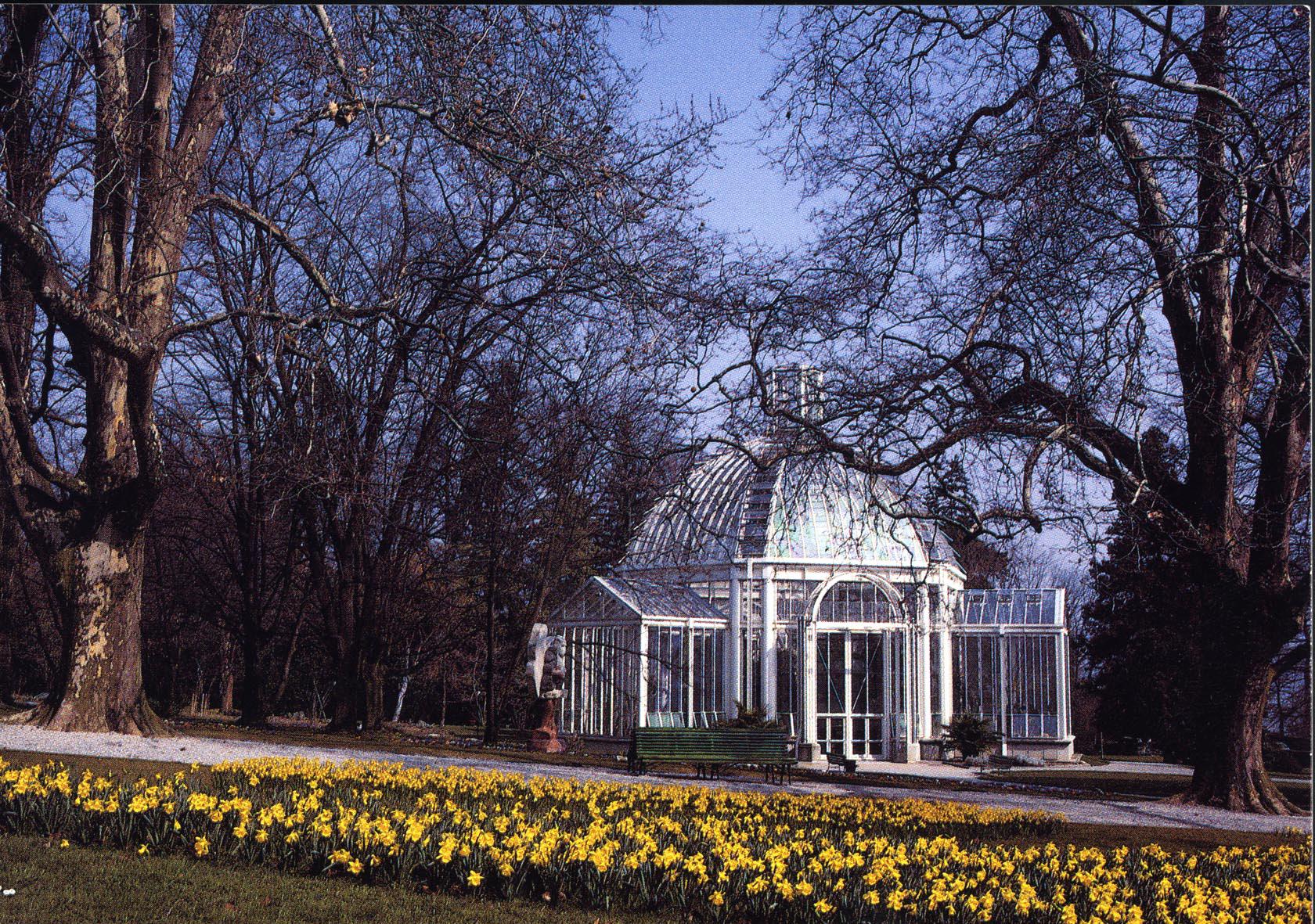 genve rue de lausanne serre tempre du jardin botanique - Jardin Botanique Geneve