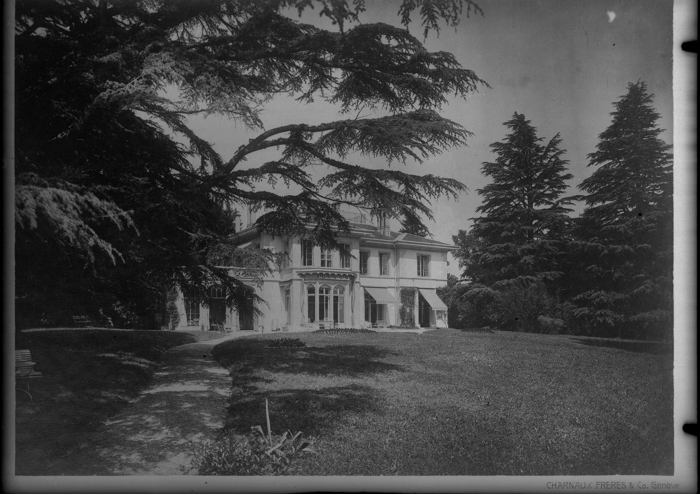 Pregny-Chambésy, Pregny: villa Les Ormeaux