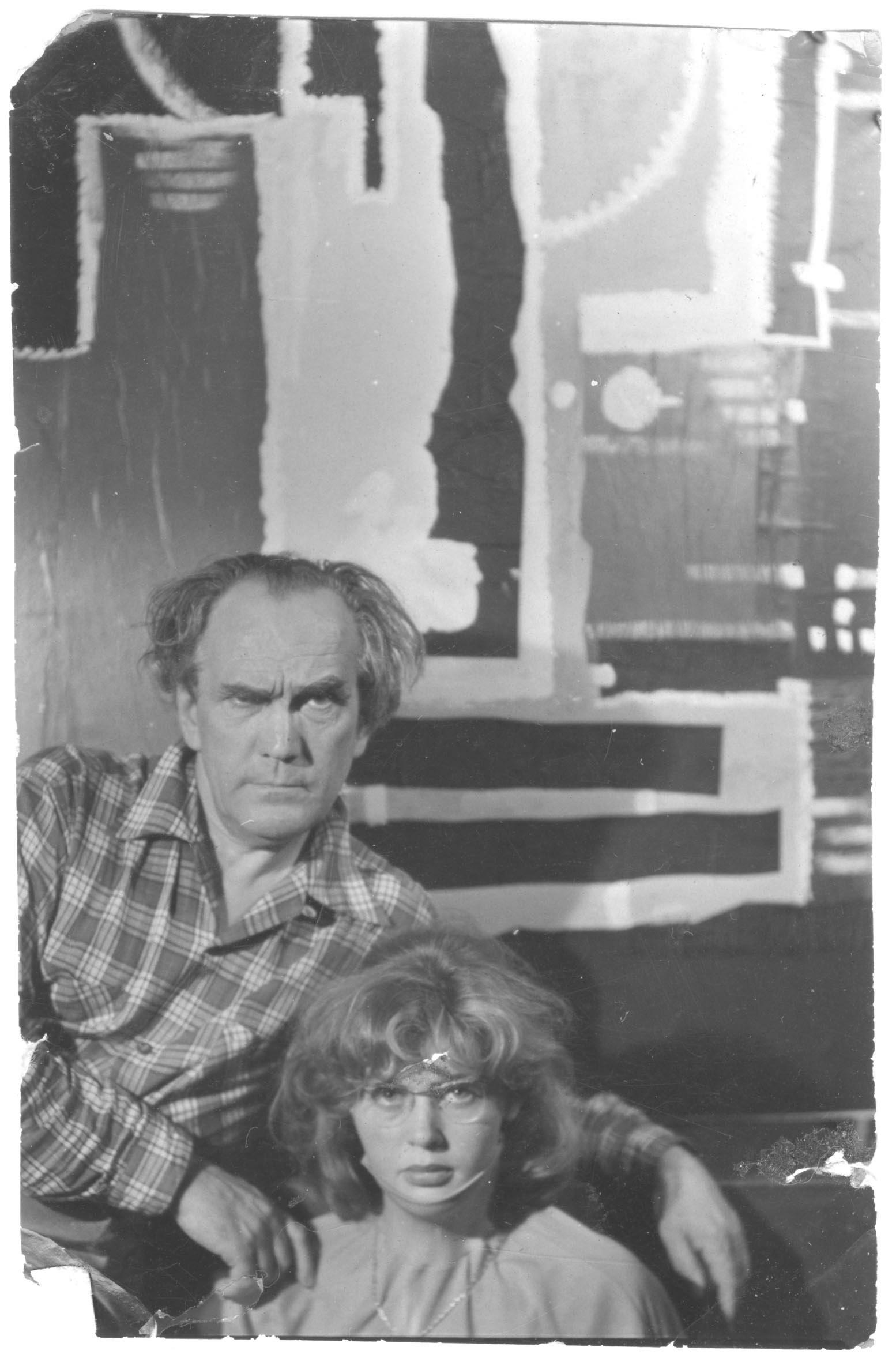 Autoportrait avec son maître Angelo (Pal Funk)